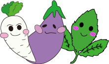 野菜やハーブのイラスト